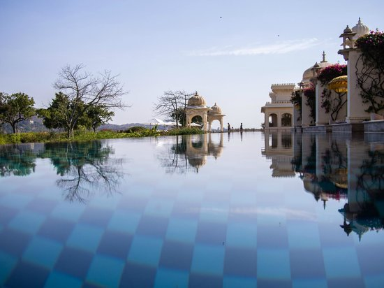 The Oberoi Udaivilas: Stunning pool