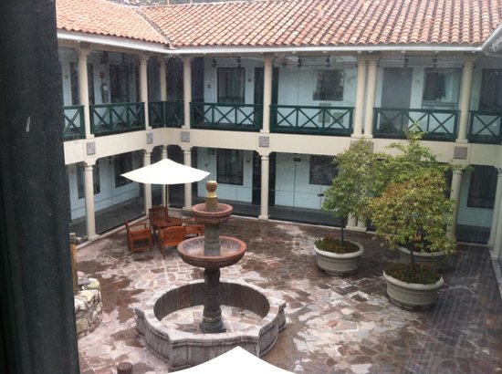 Cusco Region, Peru: Hotel courtyard