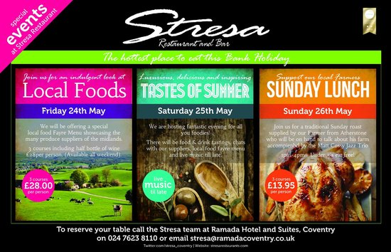 Coventry, UK: Stresa May Bank Holiday 2013
