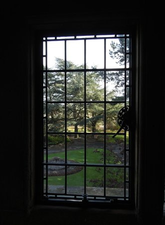 Baslow, UK : Haddon Room_View from the window