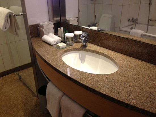 Hilton Copenhagen Airport: Sink area