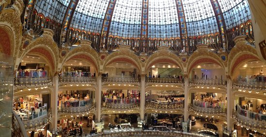 Hotel Banke: The Galeries Lafayette Department Store
