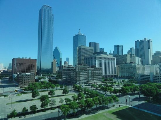 Omni Dallas Hotel: View from room