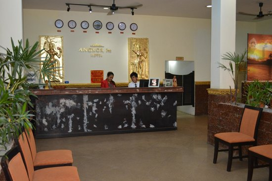 Angkor International Hotel: LE HALL D'ACCUEIL
