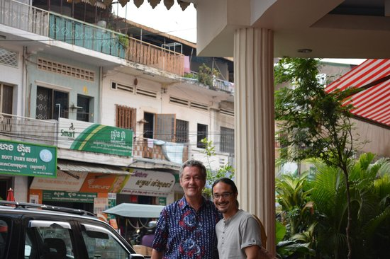 Angkor International Hotel: SEPARATION AVEC NICO