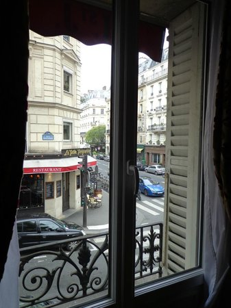 Hotel SAINT-JACQUES: View from Room #4