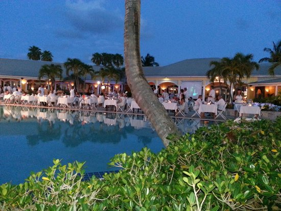 Club Med Columbus Isle: white party