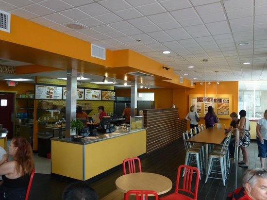 Newark, DE: Melt Down Grilled Cheese Interior