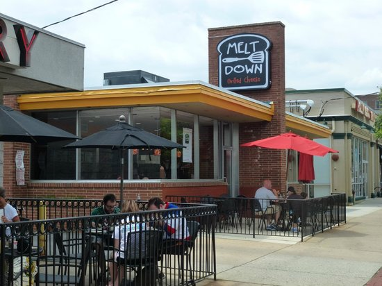 Newark, DE: Melt Down Grilled Cheese Exterior