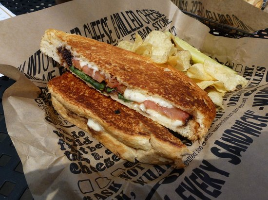 Newark, DE: Melt Down Cheesy Caprese Grilled Cheese
