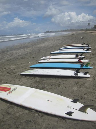 Nosara, Costa Rica: Surfing lessons are a must!