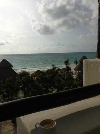 Secrets Maroma Beach Riviera Cancun : View from Ocean Front balcony