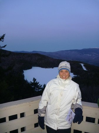 Lincoln, Nueva Hampshire: Top of Loon Mountain Easter Sunrise Service