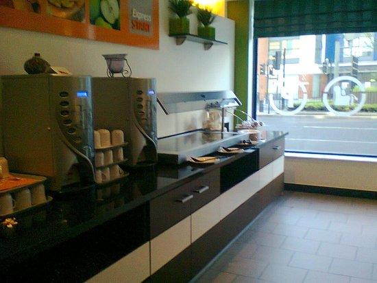 Holiday Inn Express London Stratford: Sunday no breakfast