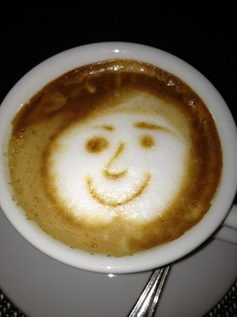 Starhotels Anderson: Even the Cappuccino had a smile!