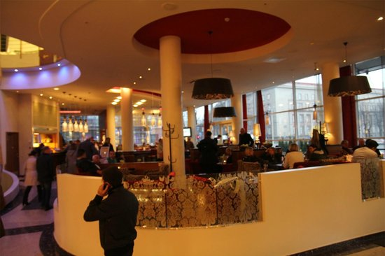 Radisson Blu Hotel Latvija: lobby bar