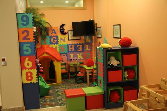 Radisson Blu Hotel Latvija: kids play room
