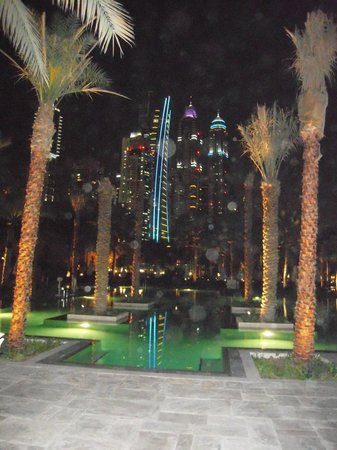 One&Only Royal Mirage Dubai: Royal Palace by night