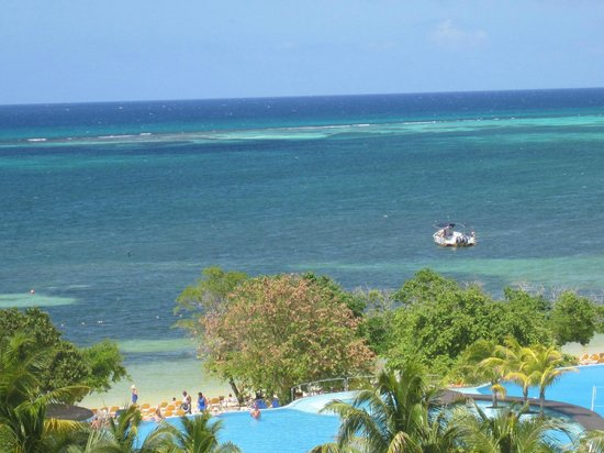 Iberostar Rose Hall Beach Hotel: View from room 2406