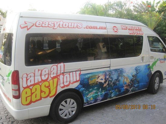 Allegro Playacar: Easy Tours Van