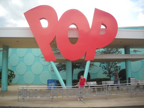 Disney's Pop Century Resort: llegamos