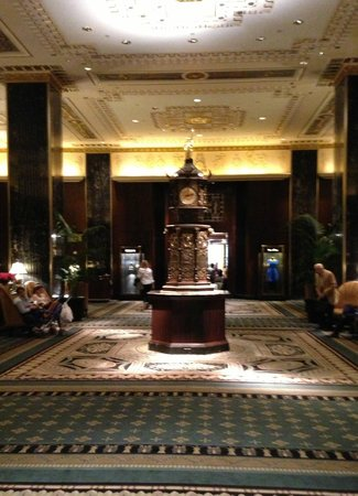 Waldorf Astoria New York: Main lobby