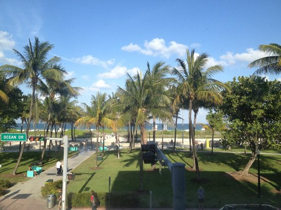 Majestic Hotel South Beach : View from room