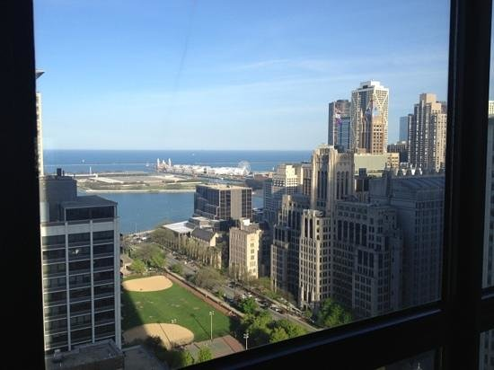 The Ritz-Carlton Chicago (A Four Seasons Hotel): view from room- 20th floor