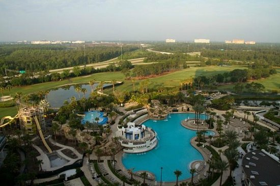 Marriott Orlando World Center Resort & Convention Center: view from room