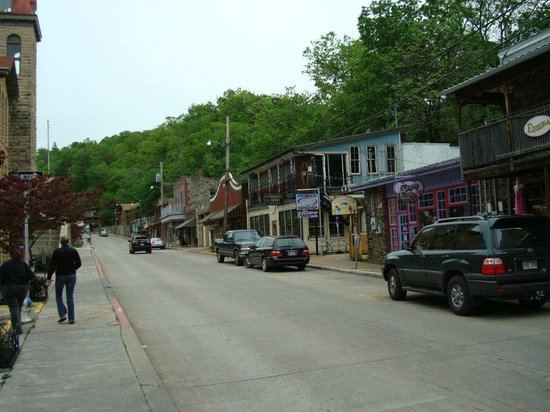Days Inn Eureka Springs: Eureka Springs Downtown