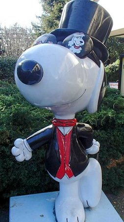 Santa Rosa, Kalifornia: Snoopy....All Dressed Up