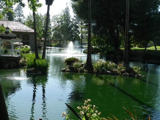 Westlake Village, Californië: The pond (by the restaurant)