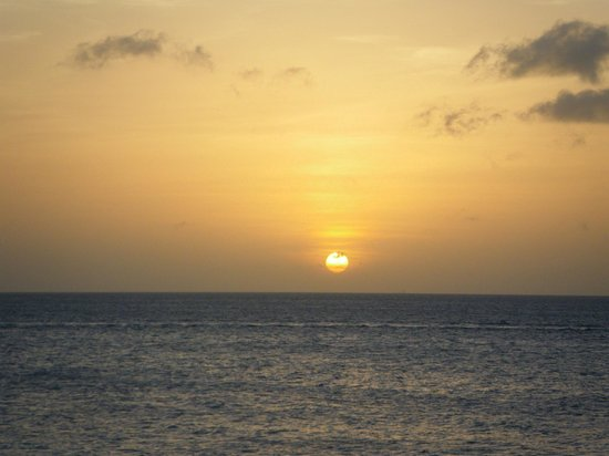 Kralendijk, Bonaire: Sunset from Windsock Beach Club