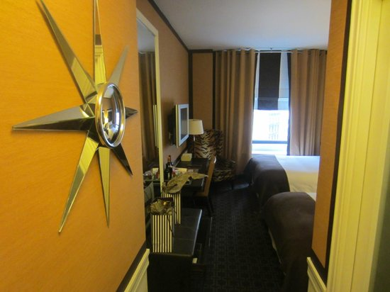 Empire Hotel: View of Room from Doorway