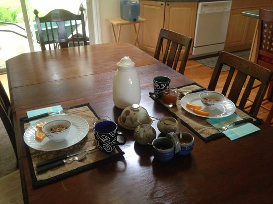 The Garden Room B&B: Yummy Breakie
