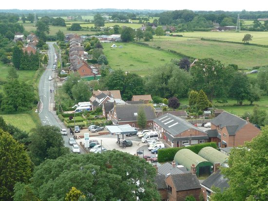 Nantwich, UK: View from Wybunbury Tower