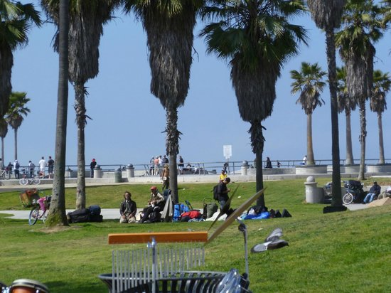 Marina del Rey, Kalifornien: Along the Venice Beach Boardwalk