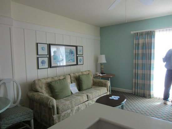 Disney's BoardWalk Villas: Living Room