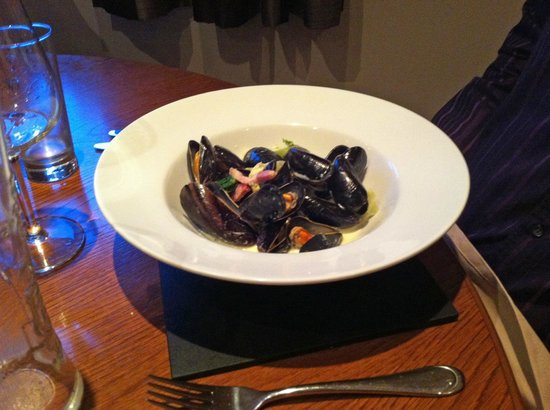 Goole, UK: Mussels