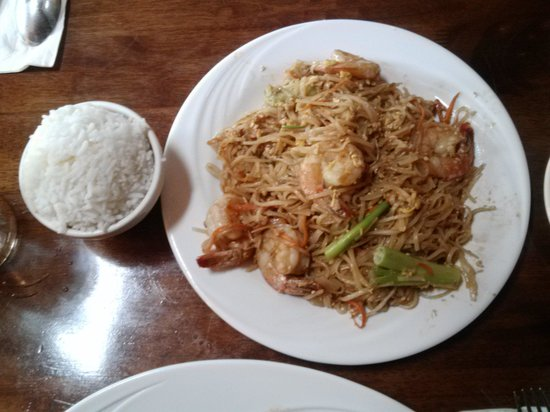Lambertville, Nueva Jersey: I love the pad thai here I always getting when I come