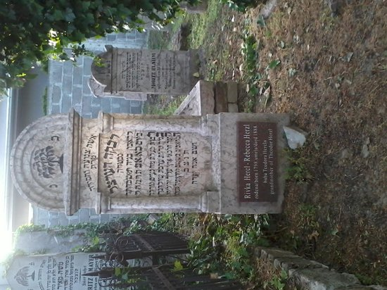 Zemun, Serbia: Grave of Theodor Herzl's grandmother