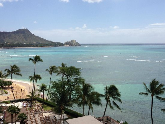 Halekulani Hotel: diamond head suite view