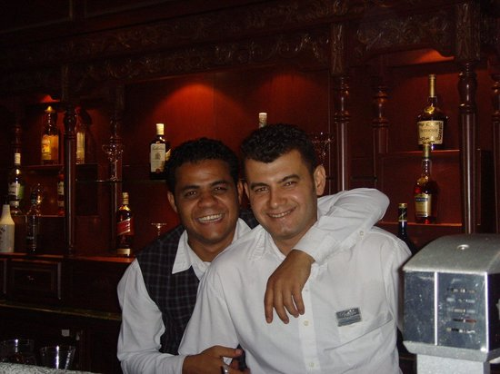 Premier Le Reve Hotel & Spa: The Best Bartenders in the whole of Egypt!  We loved these guys - no one works harder!
