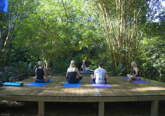Cascadas Farallas Waterfall Villas: Yoga