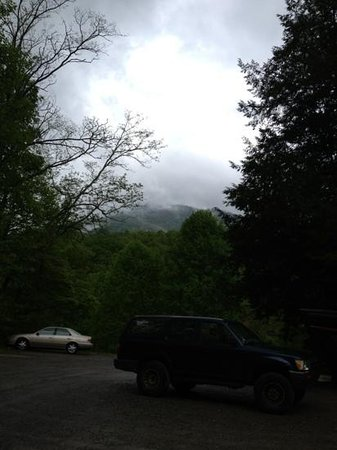 Balsam, NC: view from parking lot
