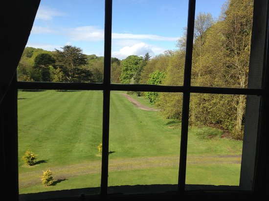 Beamish Hall Hotel: View from Breakfast in the Eden Room