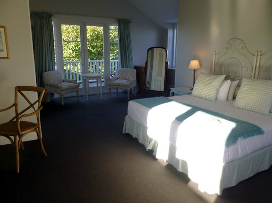 Martinborough, Yeni Zelanda: The room on the second floor looking to balcony