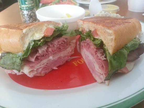 Arcadia, Floride : The 'Ultimate' sandwich