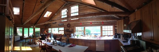 The Chalet of Canandaigua: The amazing Chalet kitchen