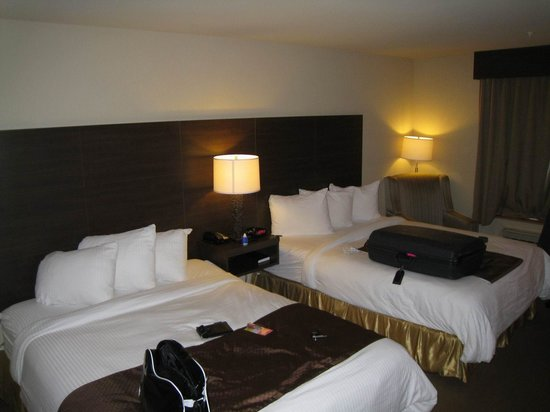 BEST WESTERN PLUS Saint John Hotel & Suites : Zimmer